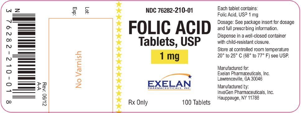 Folic Acid Tablet [Exelan Pharmaceuticals, Inc.]