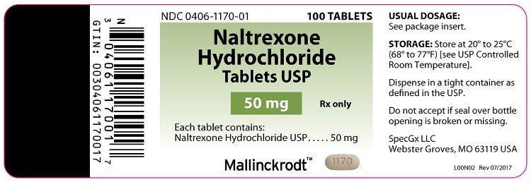 PRINCIPAL DISPLAY PANEL - 50 mg