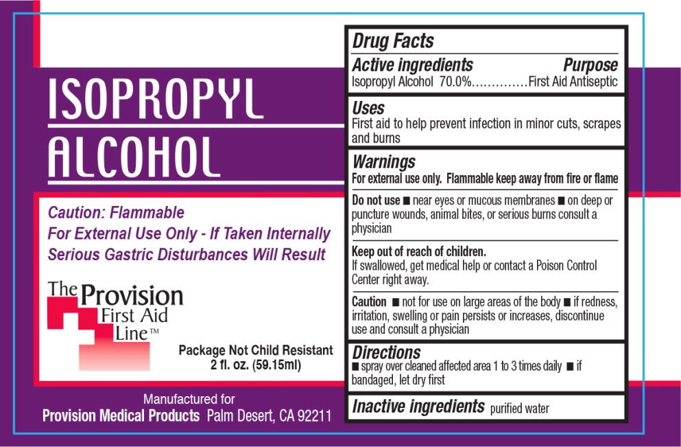 Isopropyl Alcohol Spray [Provision Medical]