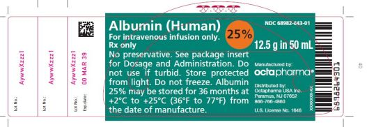 Albumin (Human) (Albumin Human) Solution [Octapharma Usa Inc]