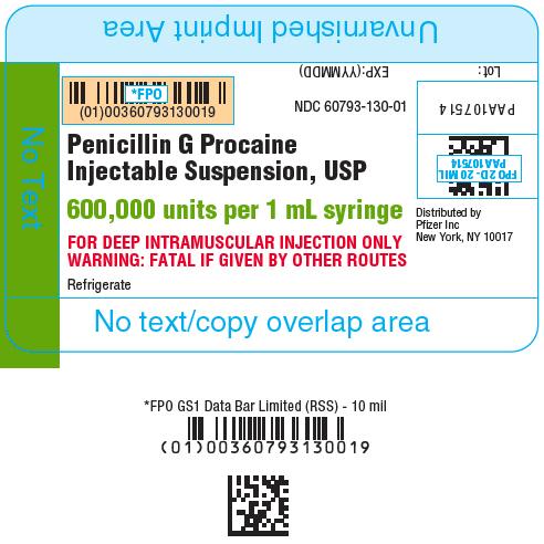 PRINCIPAL DISPLAY PANEL - 1 mL Syringe Label