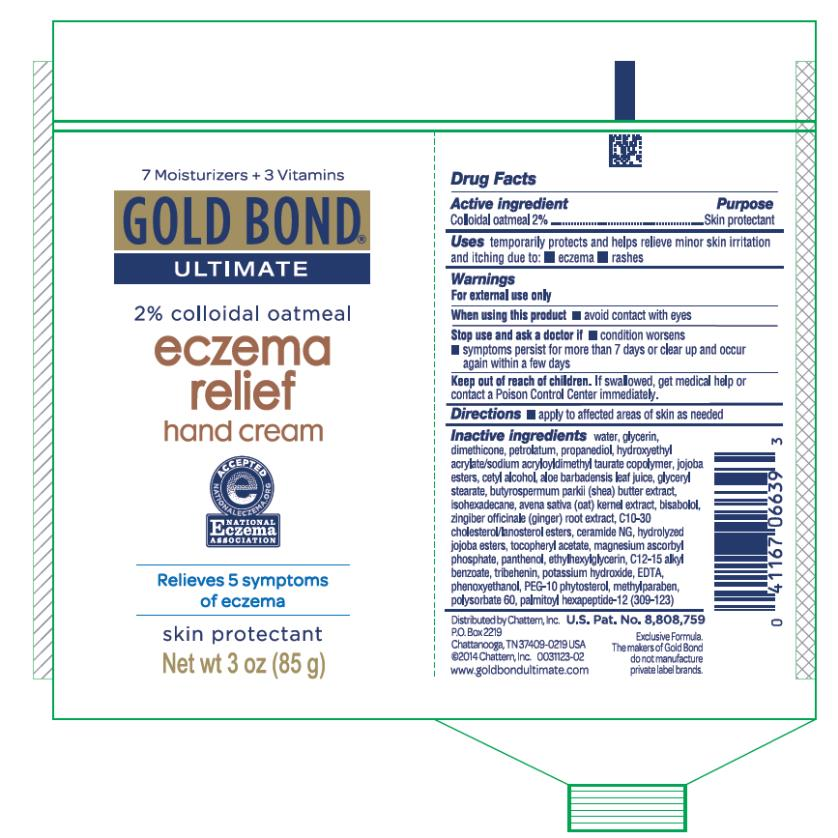 Gold Bond Ultimate Eczema Relief Hand (Colloidal Oatmeal) Cream [Chattem, Inc.]