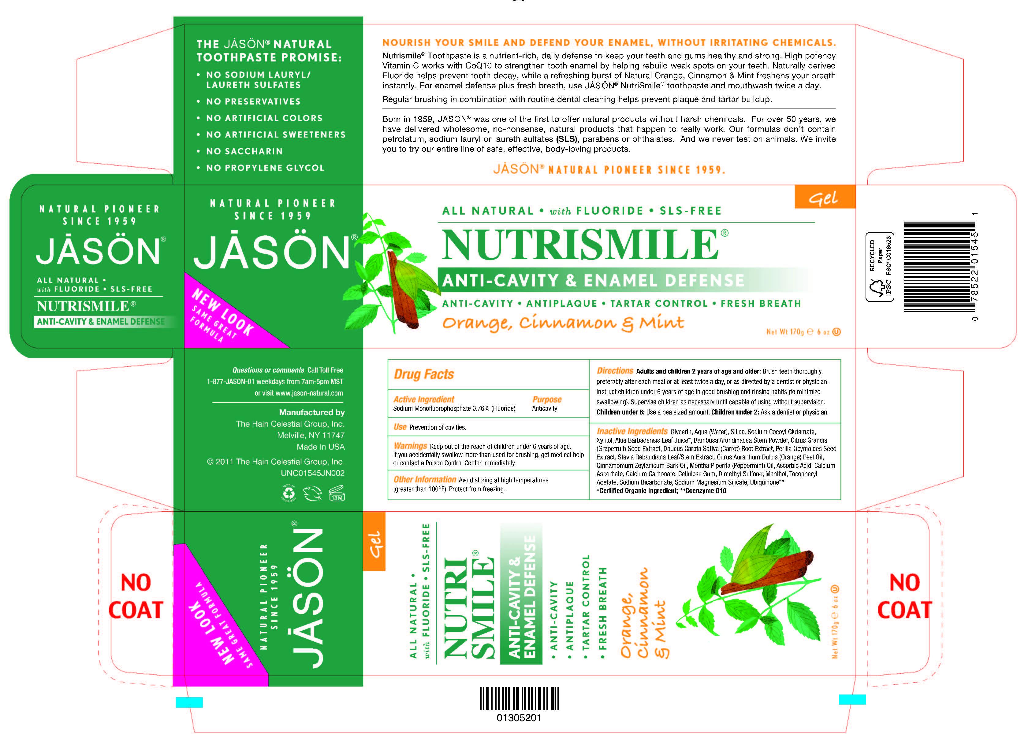 image of carton label