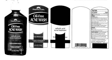 Personal Care Oil-free Acne Wash (Salicylic Acid) Liquid [Personal Care Products, Inc]