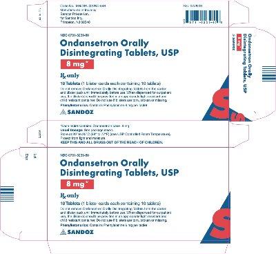 ondansetron 8 mg carton 10 tablets