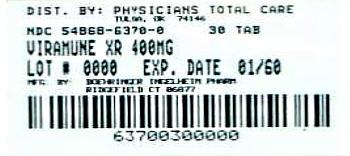 Viramune XR Label