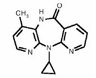 Chemical Structure - Viramune
