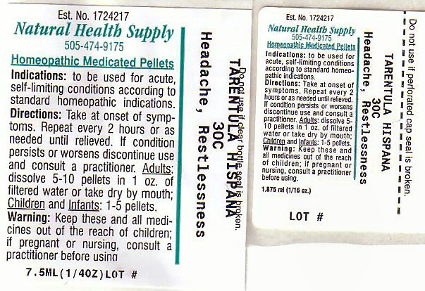 Headache Restlessness Label