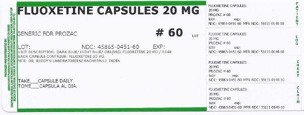 Fluoxetine Capsule [Medsource Pharmaceuticals]