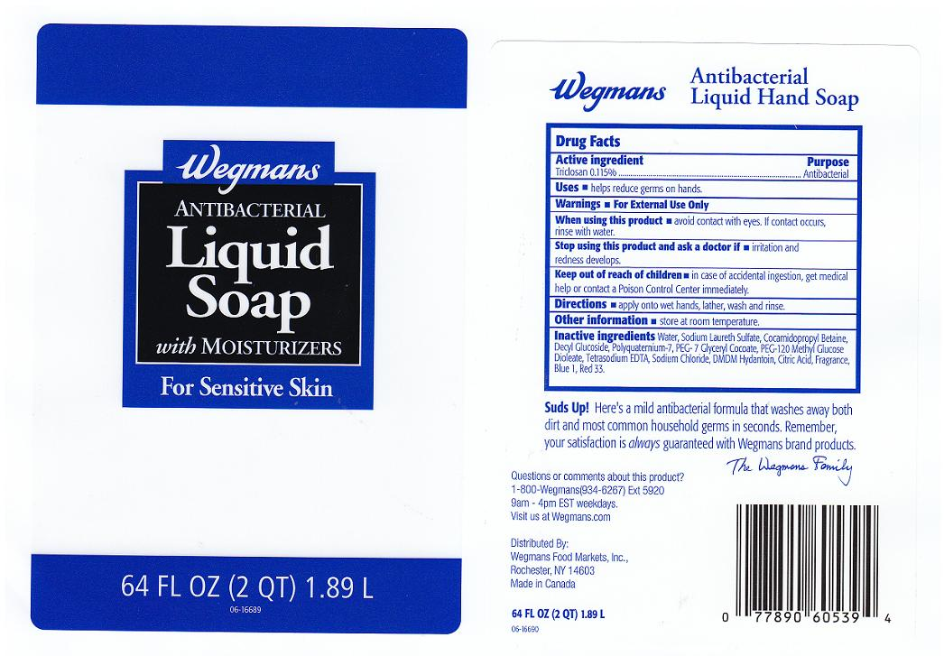 Antibacterial (Triclosan) Liquid [Wegmans Food Markets Inc]