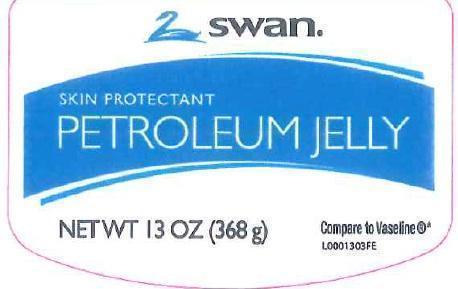 Petroleum Skin Protectant (White Petrolatum) Jelly [Vi-jon]