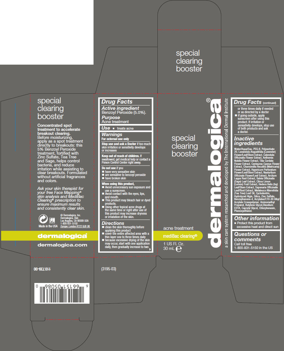 Special Clearing Booster (Benzoyl Peroxide) Liquid [Dermalogica, Inc.]