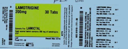 Lamotrigine Tablet [Direct Rx]