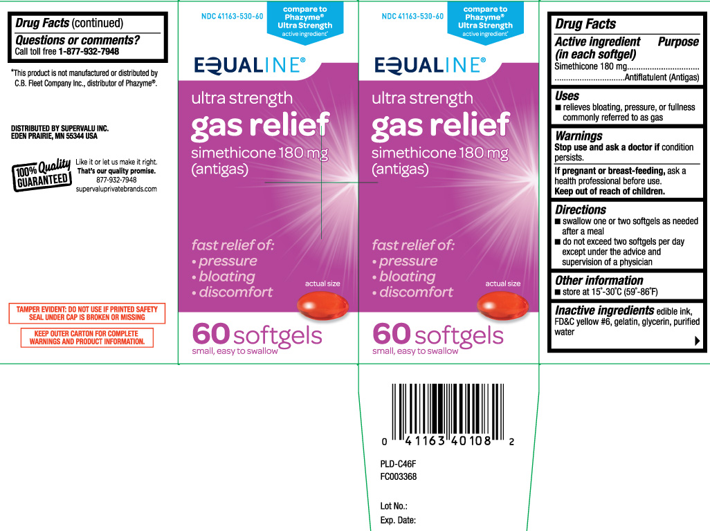Gas Relief Ultra Strength (Simethicone) Capsule, Liquid Filled [Equaline (Supervalu)]