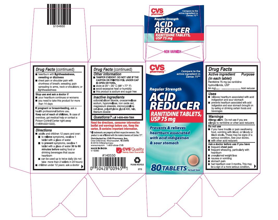 Ranitidine Tablet, Film Coated [Cvs Pharmacy, Inc]