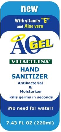 Aogel (Alcohol) Gel [Compania Internacional De Comercio, S.a. De C.v.]