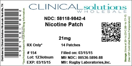 Nicotine Patch [Clinical Solutions Wholesale]