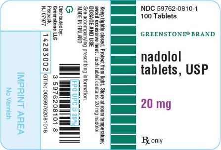 Nadolol Tablet [Greenstone Llc]
