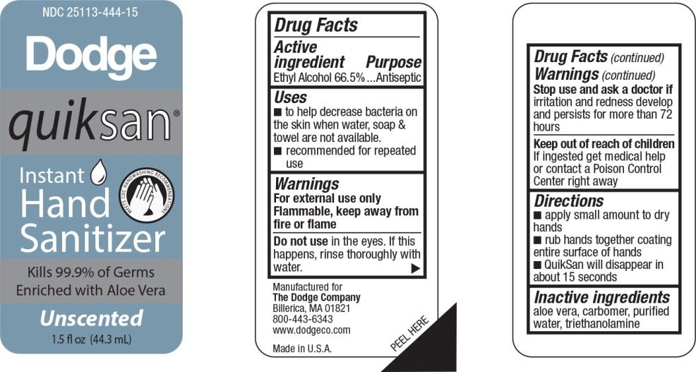 Instant Hand Sanitizer (Alcohol) Gel [Dodge]