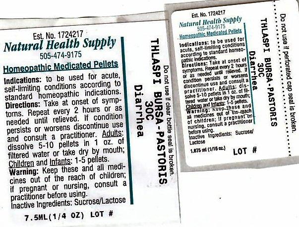 Diarrhea (Capsella Bursa-pastoris) Pellet [Natural Health Supply]