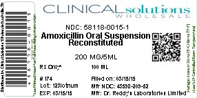 Amoxicillin Powder, For Suspension [Clinical Solutions Wholesale]