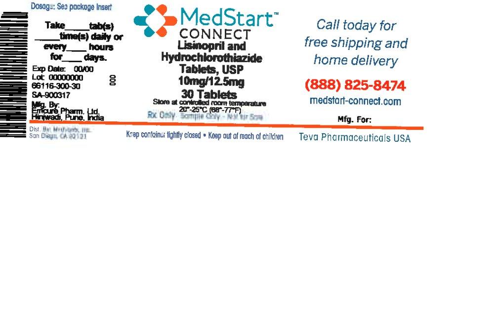 Lisinopril And Hydrochlorothiazide Tablet [Medvantx, Inc.]