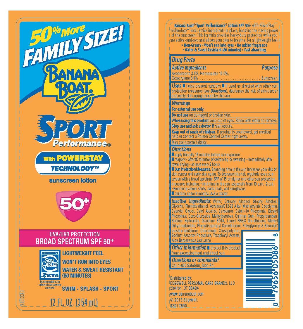 Banana Boat (Avobenzone Homosalate Octocrylene) Lotion [Energizer Personal Care Llc]
