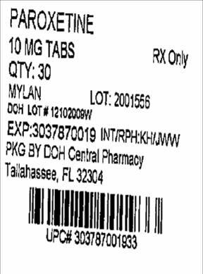 10mg Label