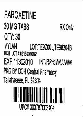 30mg Label