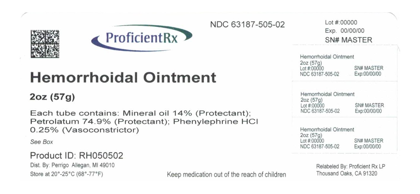 Hemorrhoidal (Mineral Oil, Petrolatum, Phenylephrine Hcl) Ointment [Proficient Rx Lp]