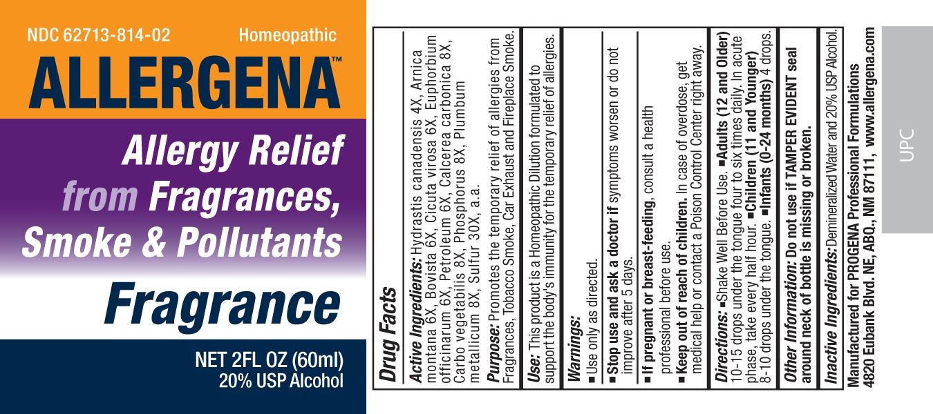 Allergena Fragrance Liquid [Meditrend, Inc. Dba Progena Professional Formulations]