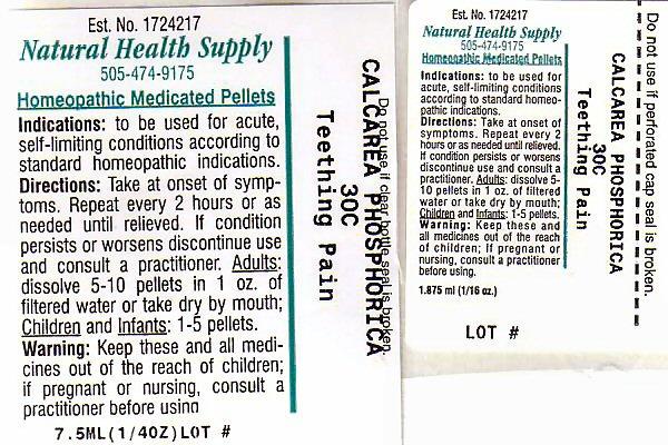 Teething Pain (Tribasic Calcium Phosphate) Pellet [Natural Health Supply]