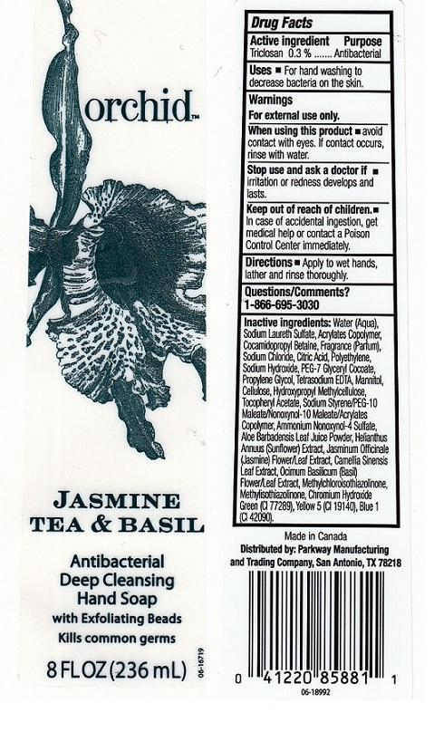 Orchid Jasmine Tea And Basil (Triclosan) Liquid [H.e.b.]
