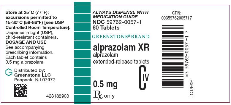 Alprazolam Xr (Alprazolam) Tablet, Extended Release [Greenstone Llc]