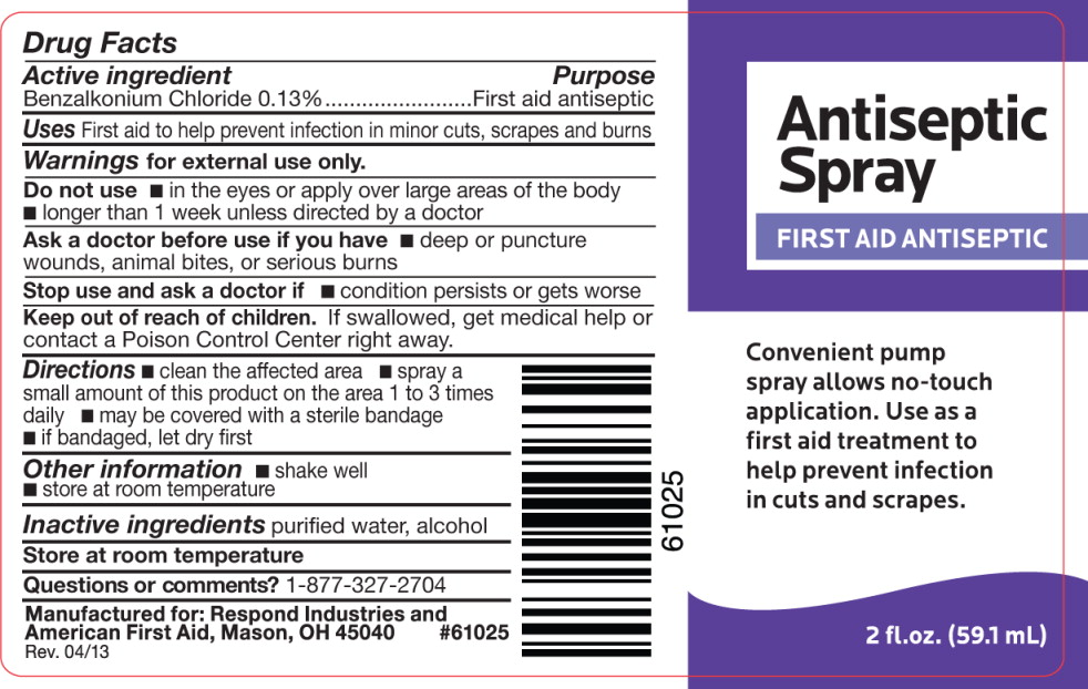 Antiseptic (Benzalkonium Chloride) Liquid [Cintas First Aid & Safety]