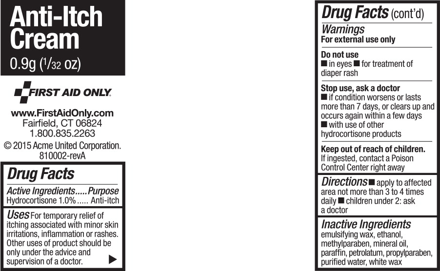 Hydrocortisone Cream [First Aid Only, Inc]