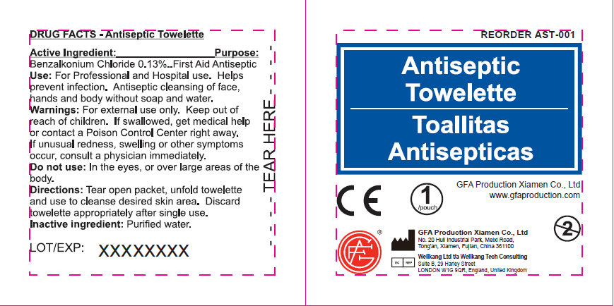 Antiseptic (Benzalkonium Chloride) Swab [Genuine First Aid Llc]