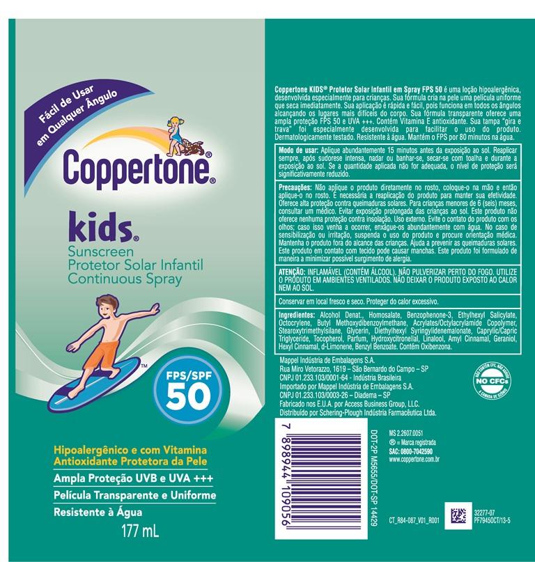 Coppertone Kids Spf 50 (Coppertone Kids) Spray [Msd Consumer Care, Inc.]