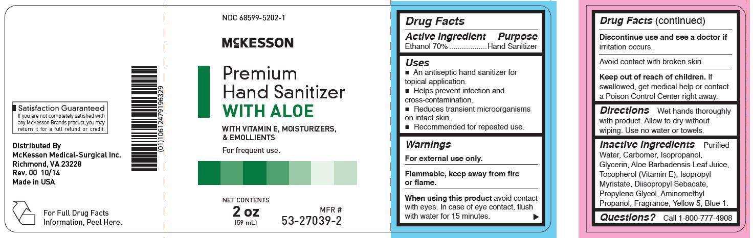 Premium Hand Sanitizer With Aloe (Ethanol) Gel [Mckesson Medical-surgical Inc.]