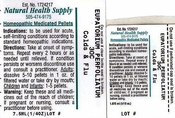 Colds Flu (Eupatorium Perfoliatum Flowering Top) Pellet [Natural Health Supply]