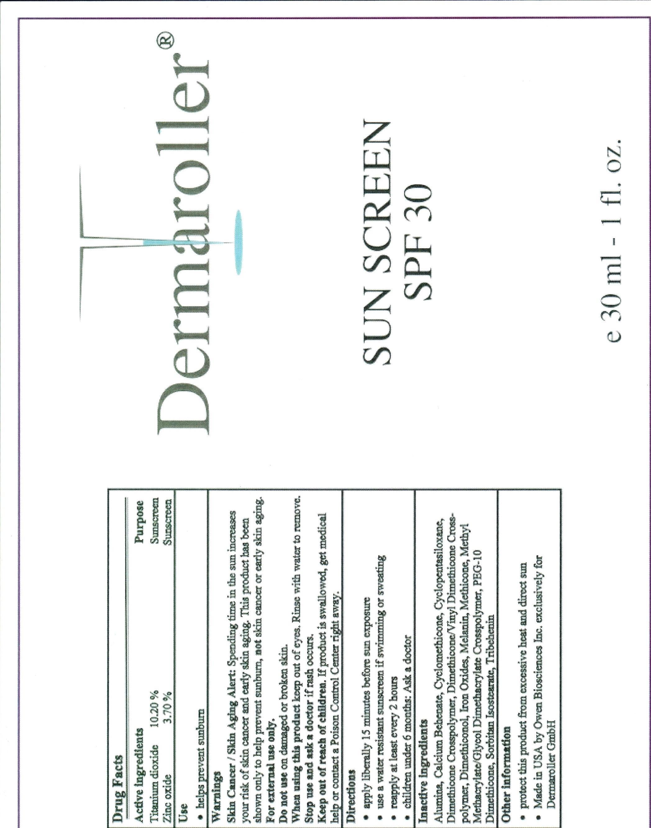Anhydrous Spf 30 (Titanium Dioxide, Zinc Oxide) Cream [Owen Biosciences, Inc.]
