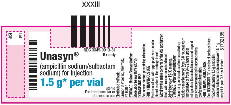 PRINCIPAL DISPLAY PANEL - 1.5 g Vial Label