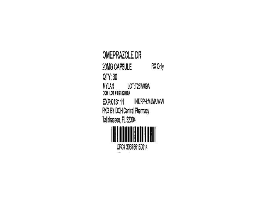 Omeprazole Delayed-Release Capsules 20 mg