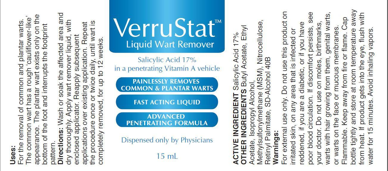 Verrustat Wart Remover (Salicylic Acid) Liquid [Clinical Therapeutic Solutions]