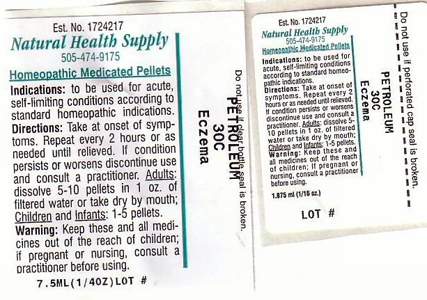 Eczema Label 1