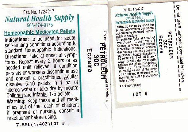 Eczema (Kerosene) Pellet [Natural Health Supply]