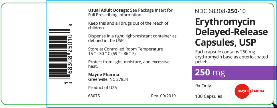 Erythromycin Capsule, Delayed Release Pellets [Midlothian Laboratories]