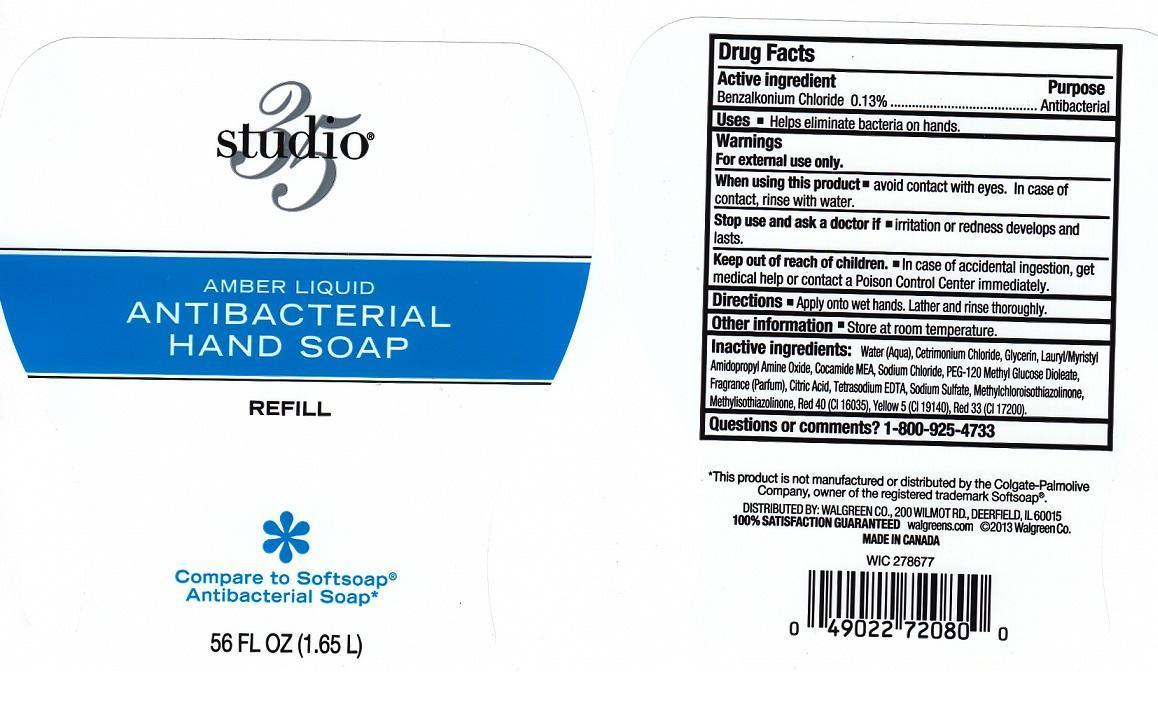 Studio 35 Amber (Benzalkonium Chloride) Liquid [Walgreen Company]