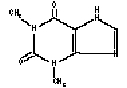 Theophylline Extended Release Structural Formula