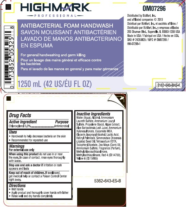Highmark Professional Antibacterial Foam Handwash (Chloroxylenol) Liquid [Office Max, Inc.]